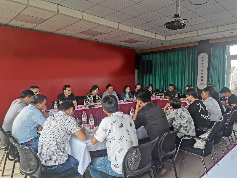 青浦区举办农业经理人学员区域农业研学活动